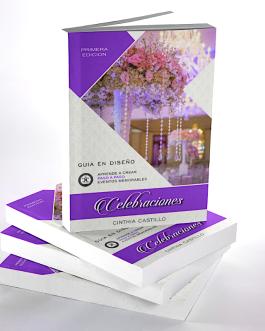"""Libro Celebraciones """"Guía en Diseño"""""""
